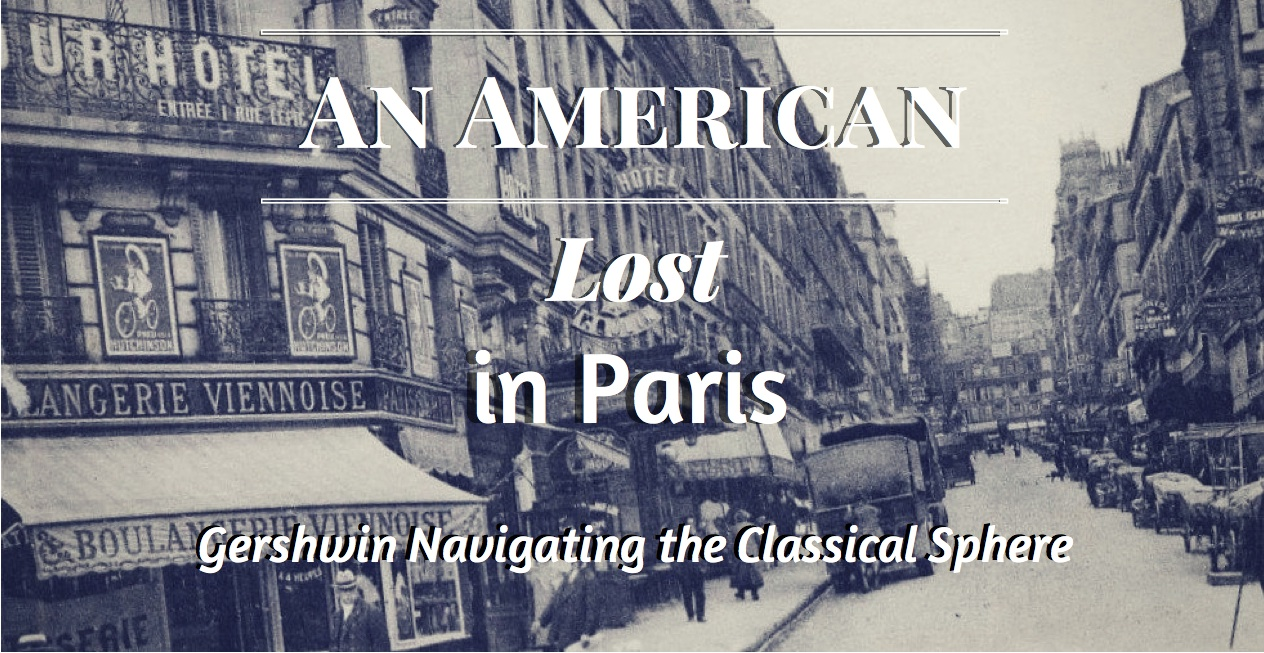 An American Lost in Paris Banner