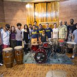 Jazz faculty and students in Cuba 2017
