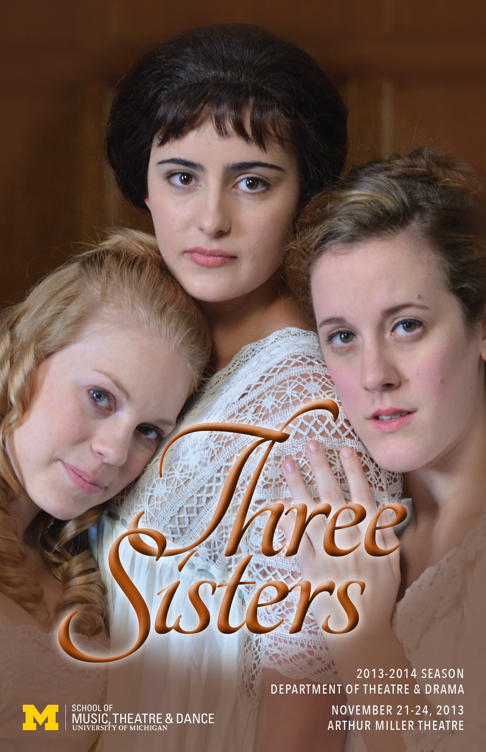 Three Sisters | U-M School of Music, Theatre & Dance