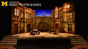 ZOOM background - Theatre and drama set from Shakespeare play