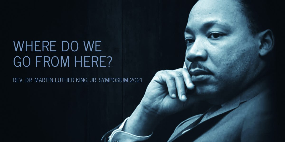 Pensive Martin Luther King, Jr.